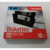 Diskette Imation 3,5 En Caja X 10 Unidades Made In U.s.a