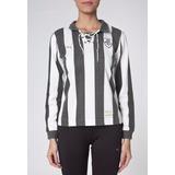 Camisa Do Botafogo Feminina Retrô Manga Longa Puma - Oficial