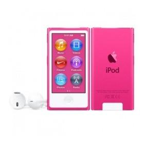 Apple Ipod Nano 16gb, Bluetooth 4.0, Rosa (7a Generación)