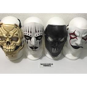 Slipknot Banda Mascaras Adulto Unitalla Mascara De Látex