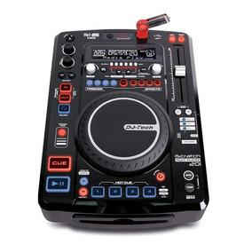 Controlador De Audio Profesional Dj Tech Con Usb Iscratch201