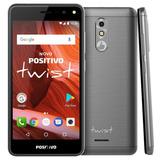 Smartphone Positivo Twist 2018 Rosa 16gb Flash Novo Nota Fis