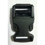 Hebilla O Broche Clic Clac De 25 Milimetros Color Negro