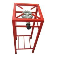 Anafe Industrial Foco 1 Hor. Alto 80cm 10000 Cal/h Caño Rojo