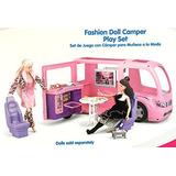Kid Connection R V Camper Motor Home - Fits 12 Barbie