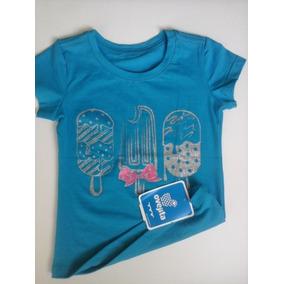 Camisa Franela Estampada Para Niña