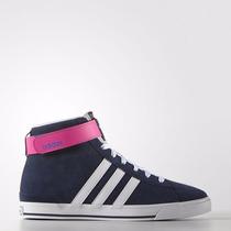 Botita Zapatilla Adidas Daily Twist Mid Gamuza