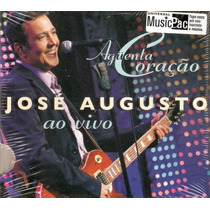 Cd José Augusto - Aguenta Coração / Digipack - Novo***