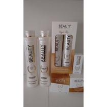 Kit Completo Beauty Progressiva Botox Mascara Argan Shampoo