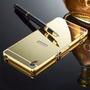 Capa Bumper Espelhada Sony Xperia Z5 Premium 5.5 +1 P/ Vidro