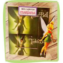 Portaretratos Tinkerbell Con Vidrio Foto 6x9cm X10 Unidades