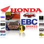 Pastillas De Freno Delantera Ebc Hh Honda Cbf 500