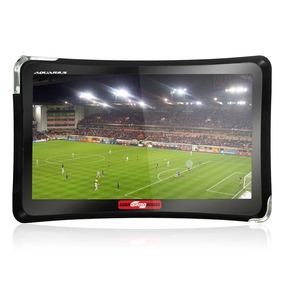 Gps Aquarius Guia 4 Rodas Mtc 4374 Touch Screen Tv Digital