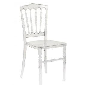 Cadeira Design Dior Pelegrin Acrílico Transparente Em 12x