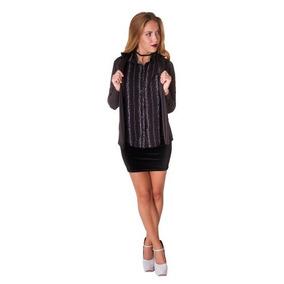 046684c0e7b08 Camisa Negra Con Rayas Blancas - Ropa y Accesorios Negro en Mercado ...