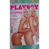 Revista Nova Play Boy - As Ronaldinhas #8 (colecionador)
