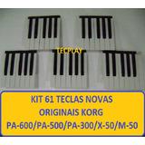 61 Teclas Korg Pa500 / Pa600 X50 Pa300 Kit Completo Novo