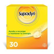 Supradyn X 30 Comprimidos Efervescentes
