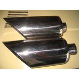 Chevrolet V8 Ford Cola Escape Cromada Inoxidable 5 Pulgadas
