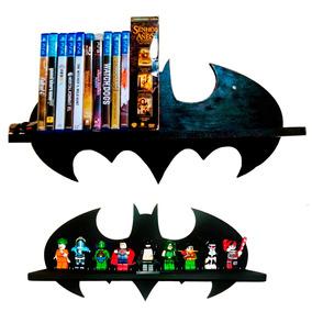 Kit 2 Prateleiras Batman Exposição Decoração - P E G !