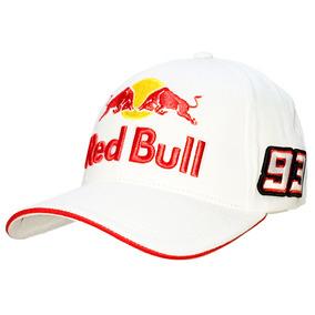 Boné Red Bull Branco Hrc 93 Envio Imediato Brb2