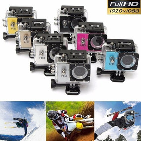 Camara Deportiva Tipo Gopro Full Hd 1080 Sumergible 12 Mpx