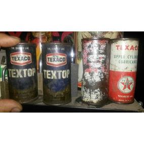 Latas Texaco Antiguas