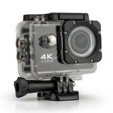 Camara De Accion 4k Tipo Go Pro Con Accesorios