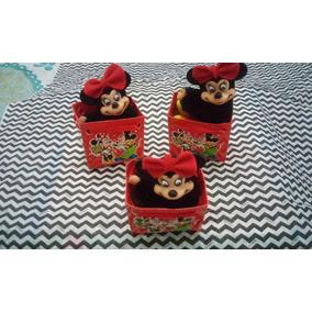 Caixa Com 48 Agarradinhos Mickey Minnie