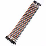 Cables Jumper 30 Cms Pack X 40 Arduino, Raspberry, Protoboar