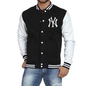 Jaqueta College Masculina Mlb Yankees Universitária De Frio