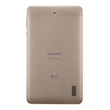 Tablet Multilaser M7s Plus 7  16gb Dourado Com Memória Ram 1gb