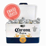 Hielera Metalica Corona 30 L Edición Especial + Envío Gratis