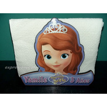 Servilleteros Frozen Y Princesa Sofia Para Tu Fiesta.