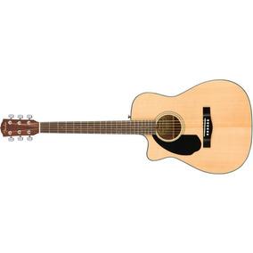 Guitarra Zurdo Fender Electroacústica Cc60sce