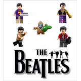 The Beatles Bonecos Miniaturas 100% Compatível Com Lego