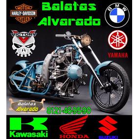 Balatas Alvarado Moto 10 Paquetes Mayoreo Inf Aqui