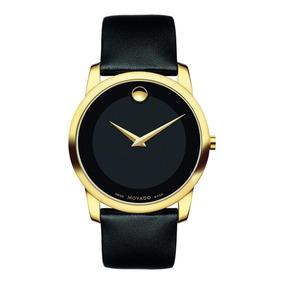 Reloj Movado 606876 Cuero Negro Hombre