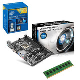 Combo Board Asrock Procesador Core I5 4460 Memoria 8gb Pc