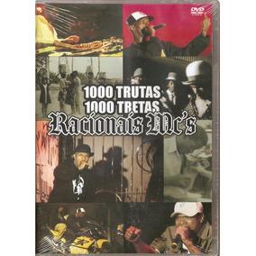 Dvd Racionais Mcs 1000 Trutas Tretas - Orig Lcr Rap