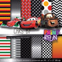 28 Itens Kit Digital Editavel Scrapbook Carros Arte
