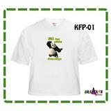 Franela Kung Fu Panda 3 Personalizada Cumpleaños Cotillon