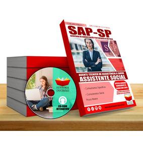 Apostila Sap Sp 2018 - Assistente Social - Sap Penitenciária