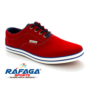 Zapato Casual Perry Ellis Rojo Caballero