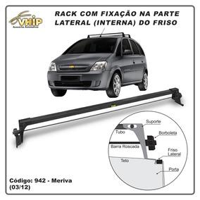Rack De Teto Chevrolet Meriva (03/12) Fix. Friso Teto