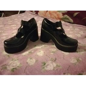 Zapatos Charolados Viento Y Marea De Cuero