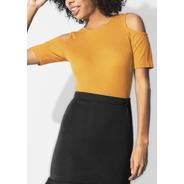 Blusa Amarilla Mujer Andrea 1362152