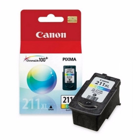 Cartucho Original De Tinta Color Canon Cl-211xl (2975b017aa)
