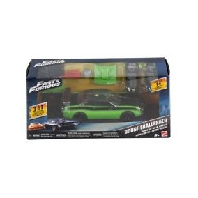 Mattel Fast & Furious 2011 Dodge Challenger Srt8 Kit 3 En 1