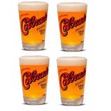 4 Copos Cerveja Colorado Importado 350 Ml + Caixa Original
